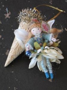 Peggy's adorable flower fairy.