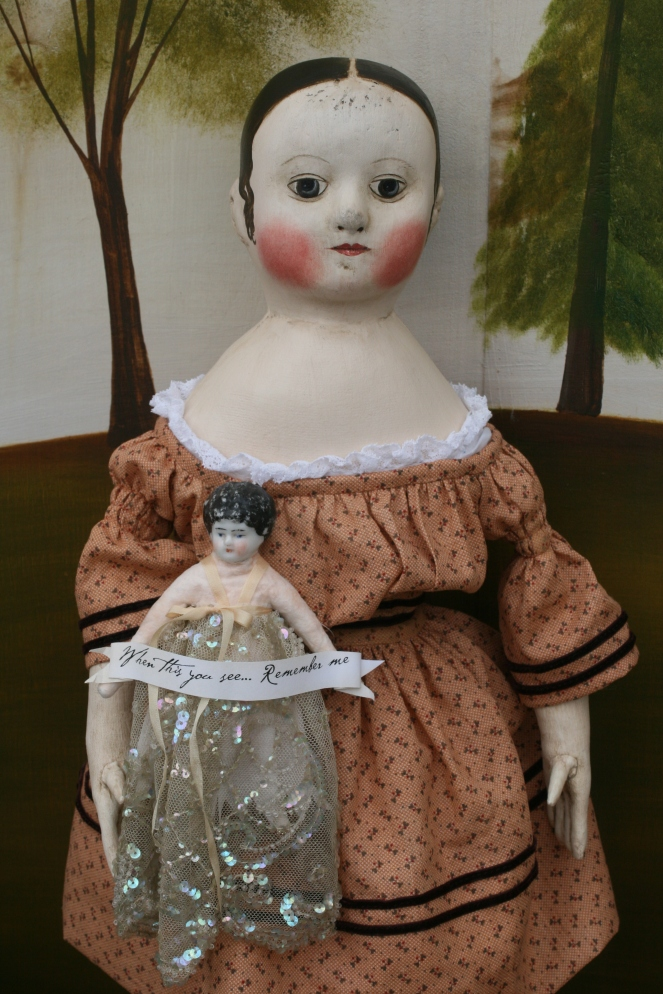 Maxine's doll...Remember Me...izannahwalker.com