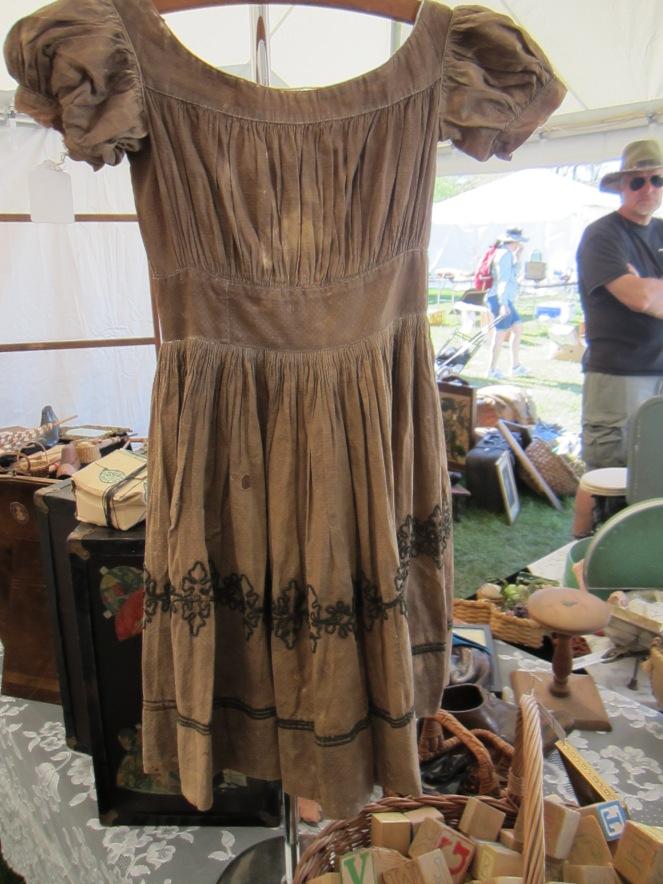 19th century child's dress Brimfield May 2013 www.izannahwalker.com