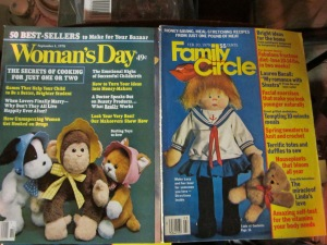 You may remember seeing Rainie's dolls and bears in these and many more magazines.