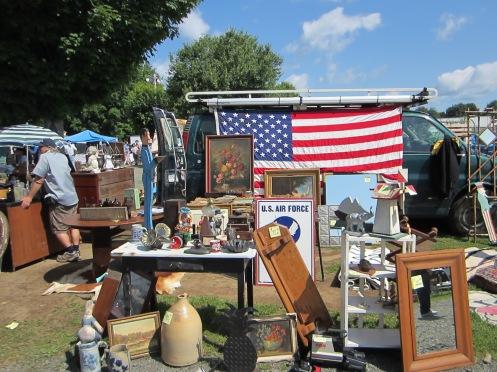 Sunday at the Elephant's Trunk Flea Market.