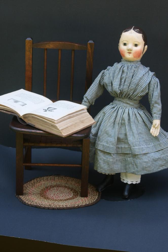 Evelyn's Doll in blue www.izannahwalker.com