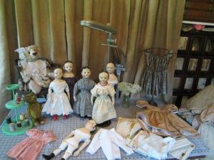 Saturday morning in my studio www.izannahwalker.com