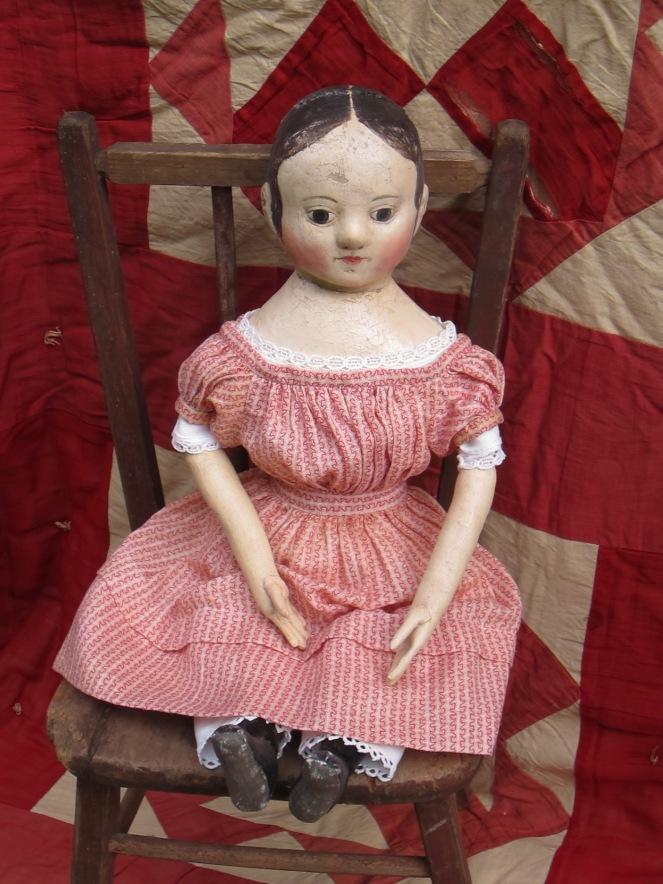 reproduction Izannah Walker doll by Paula Waltonwww.izannahwalker.com