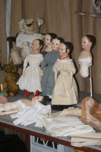 Dolls in progress www.izannahwalker.com