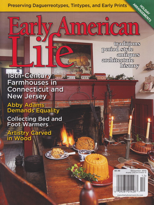 Our home is shown on the cover photo of EAL's December 2013 issue.  You can see more of our house and my dolls in the article on pages 20-29.