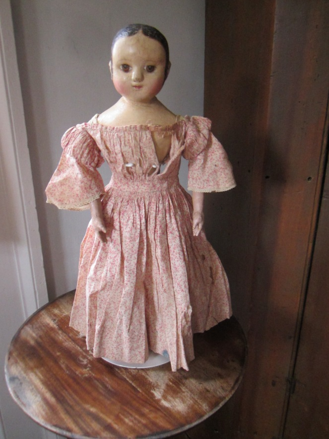 This is the one!  It looks like I need to get busy and come up with a working pattern so that I can make a reproduction of this dress, as all the girls decided it was the perfect one for their new sister.