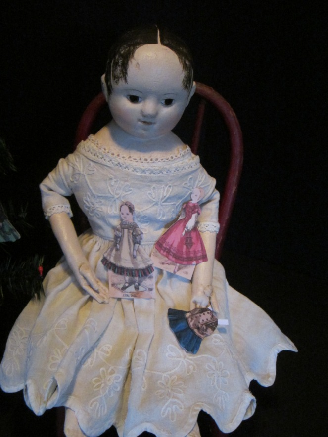 reproduction Izannah Walker doll by Paula Walton www.izannahwalker.com