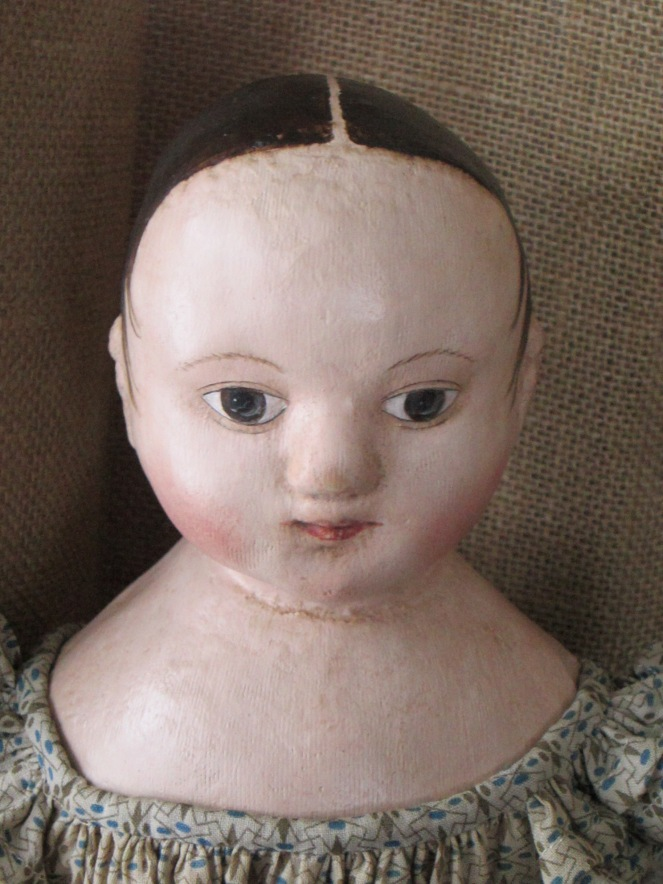 The second doll I'm working on from the same mold.