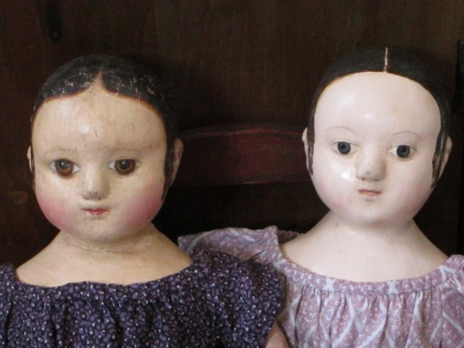 Another view of the girls as that sat with me this morning over tea.
