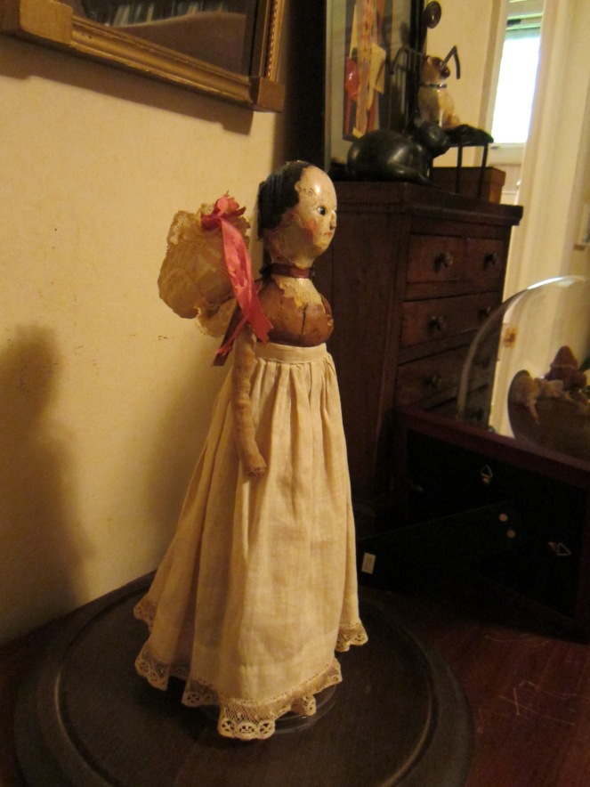 Another view of Rainy's doll.