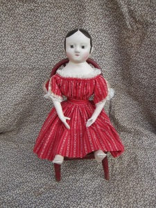 "This doll is an excellent example of what my dolls look like when you request that they look ""new""."