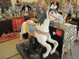We've owned and sold several similar carousel horses.