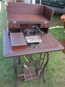 An amazing sewing machine.