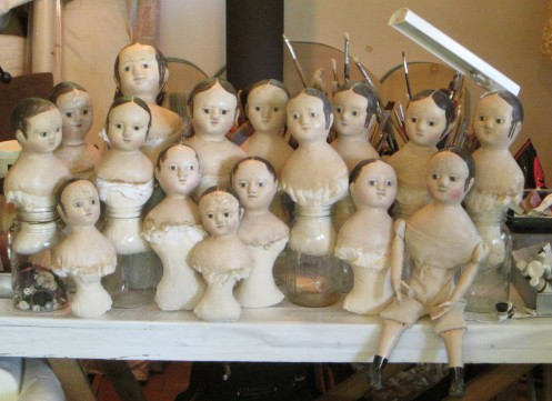 Here is a first look at the dolls  I've been working on.