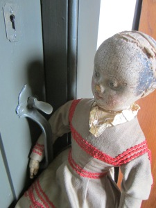 For some of the dolls are certainly old enough to know better!