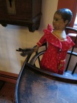 I guess this would explain the doll's sudden urge to dust the high chair every time they walk past...