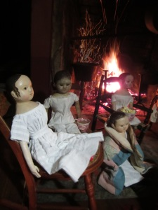"""Andrew, please tell us one more ghost story before bedtime!"""