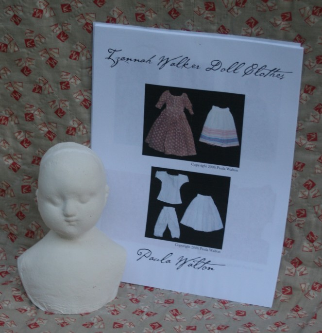 My new Izannah Walker doll making kit.
