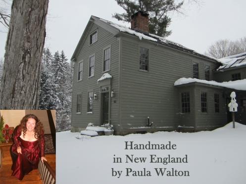handmade in New England by Paula Walton