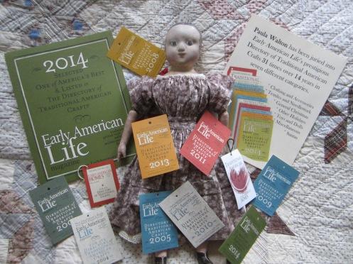 Early American Life Craftsman awards www.izannahwalker.com