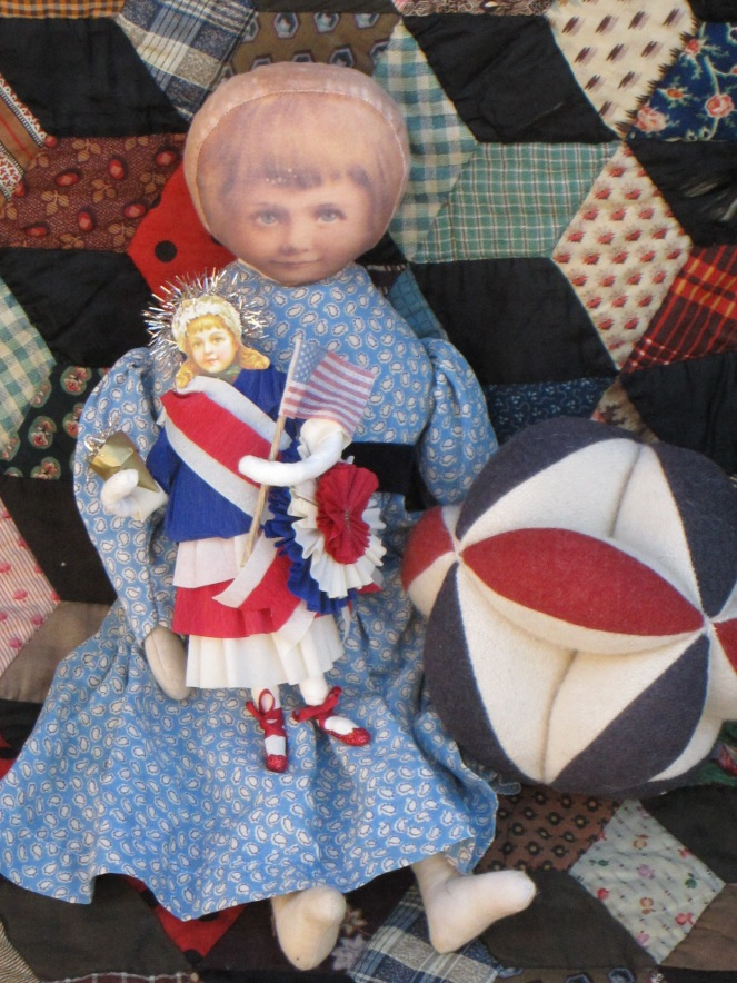 printed face rag doll www.izannahwalker.com