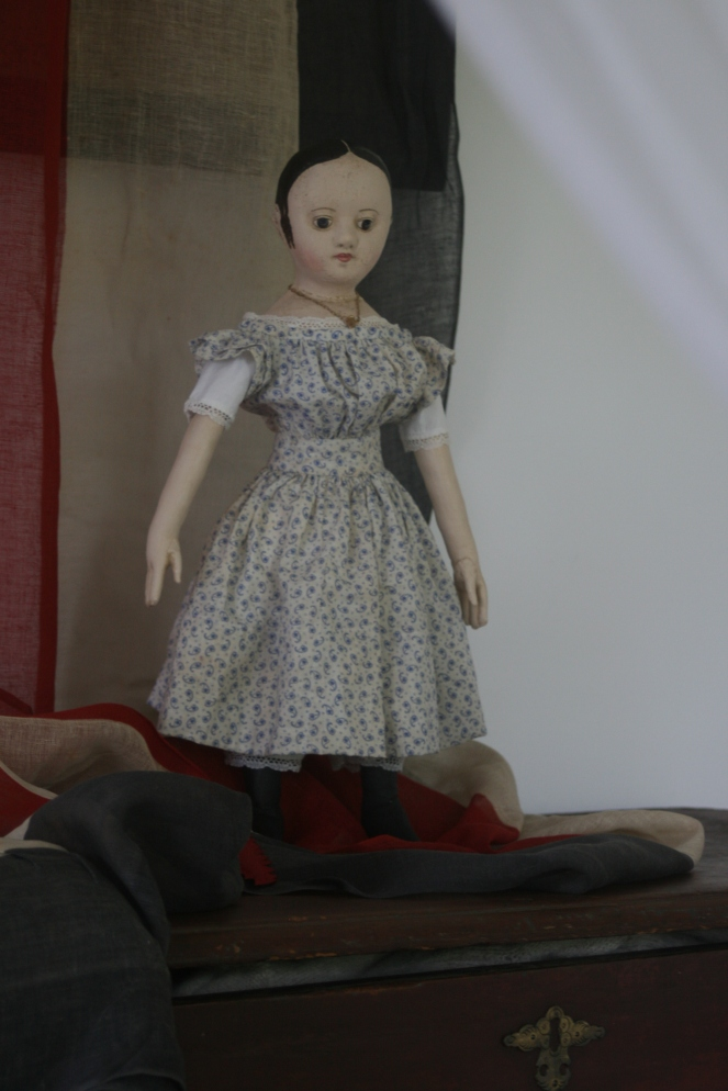 "I don't think I've mentioned it before, but when you see posts like this one on my website they are usually ones that I post so that the doll's new owner can look over all the final details and let me know if there is anything they would like changed on their doll.  Once any alterations are made and I get the OK, then I send out the final invoice for the balance of the payment and ship the doll.  Occasionally I've already emailed a few photos to the doll's new ""Mom"" and do one of these larger photo posts to tide her over until the doll can arrive. :)"