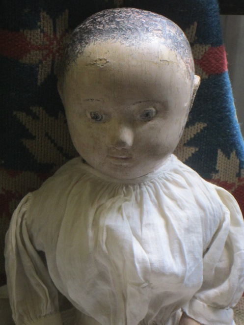 Hannah has joined my family of antique Izannah Walker originals. www.izannahwalker.com