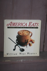 This is one of our favorite cookbooks.  America Eats by William Woys Weaver. It is no longer in print, but if you search you may still be able to find a copy here or there...