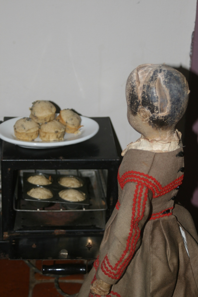 """""""Let's hurry and get the last of these out of the oven. We still need to get the chairs set up in the parlor and change clothes before the guest start arriving..."""""""