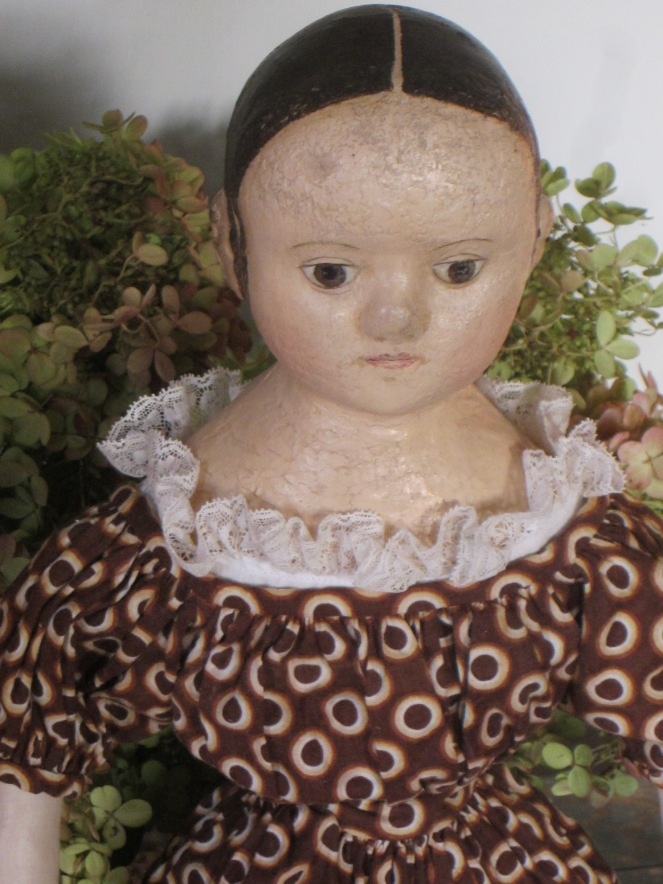Billie's doll is ready for her dress fittings and will be leaving here very soon. Look for her upcoming farewell post.