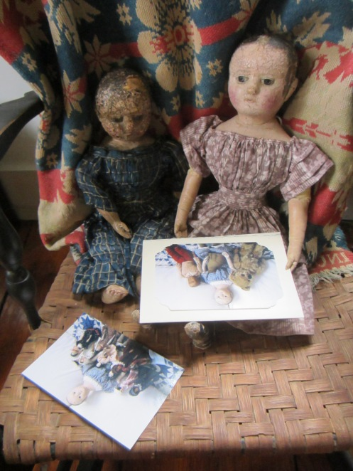 """""""Look Izzybelle, Dimity has written to us!"""" """"Be a good girl and I'll read you her  letter."""""""