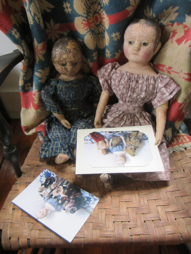 """Look Izzybelle, Dimity has written to us!"" ""Be a good girl and I'll read you her  letter."""