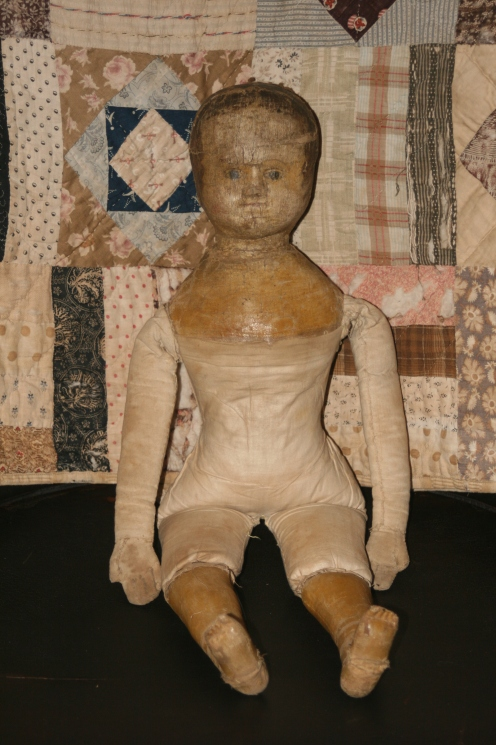 Early Izannah Walker Doll from the collection of Paula Walton