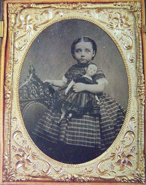 Martha Jenks Chase and Izannah Walker doll