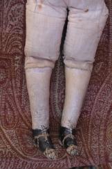 Front of legs.