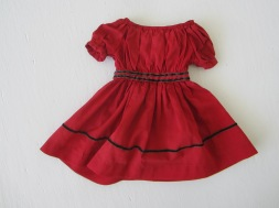 Restored dress.