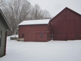 Tack and tobacco barns...