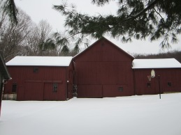 A clean unbroken stretch of snow.