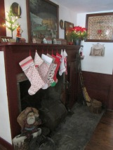 and the stockings were hung by the chimney with care...