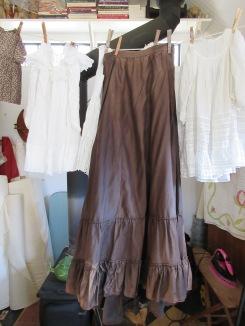 19th century petticoat...
