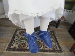 Blue shoes <3
