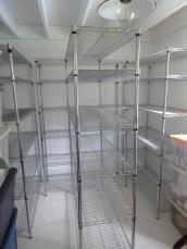empty shelves...
