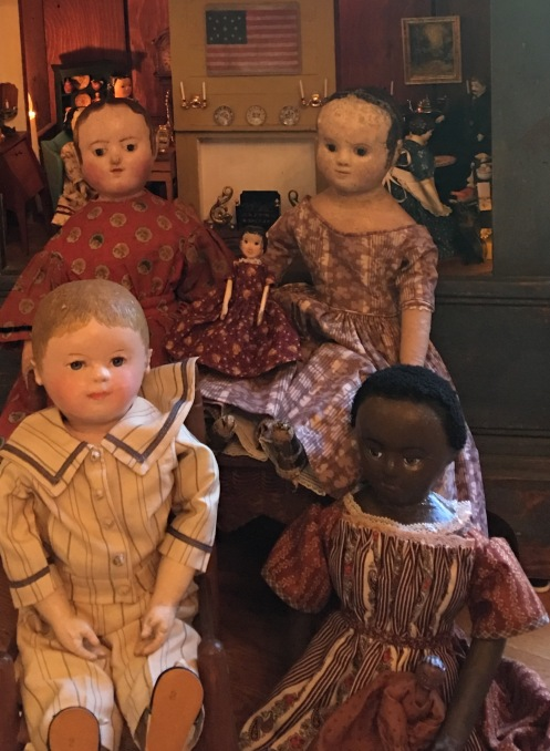Anita's Izannah Walker dolls