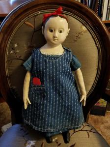 Janets Reproduction Izannah walker doll Hannah Grace