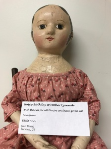Tricia's Reproduction Izannah Walker doll