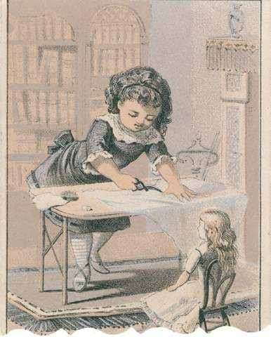 sewing doll clothes